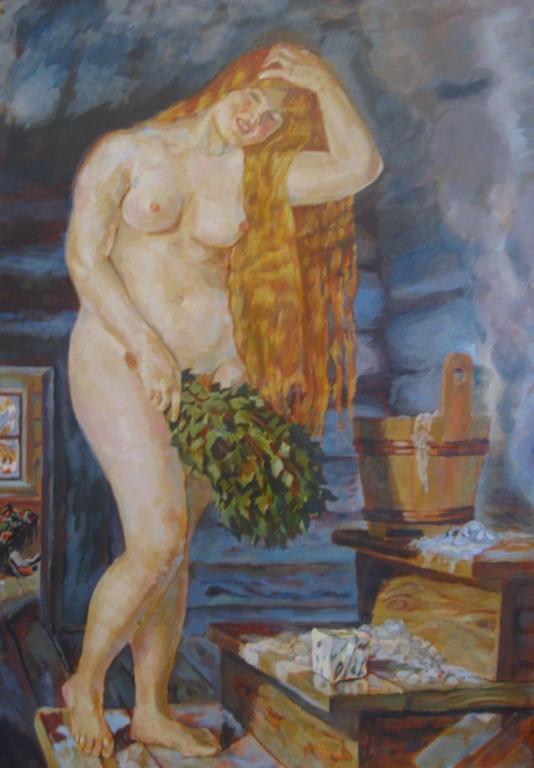 Кустодиев русская венера вышивка схема